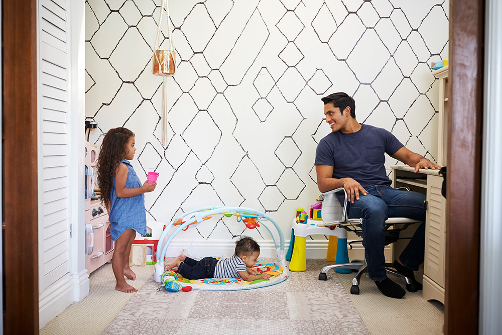 Home Office s dětmi je radost
