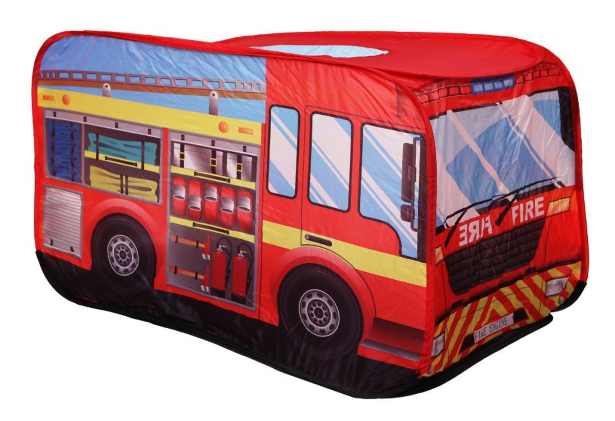 Dětský stan - hasičské auto