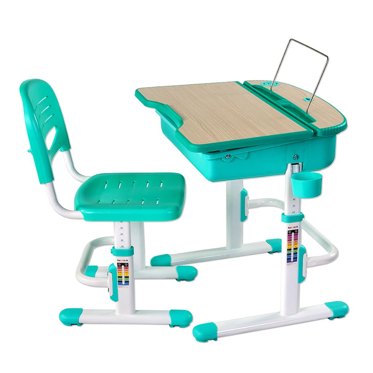 Dětský psací stůl Capri- různé barvy stojan na knihy /