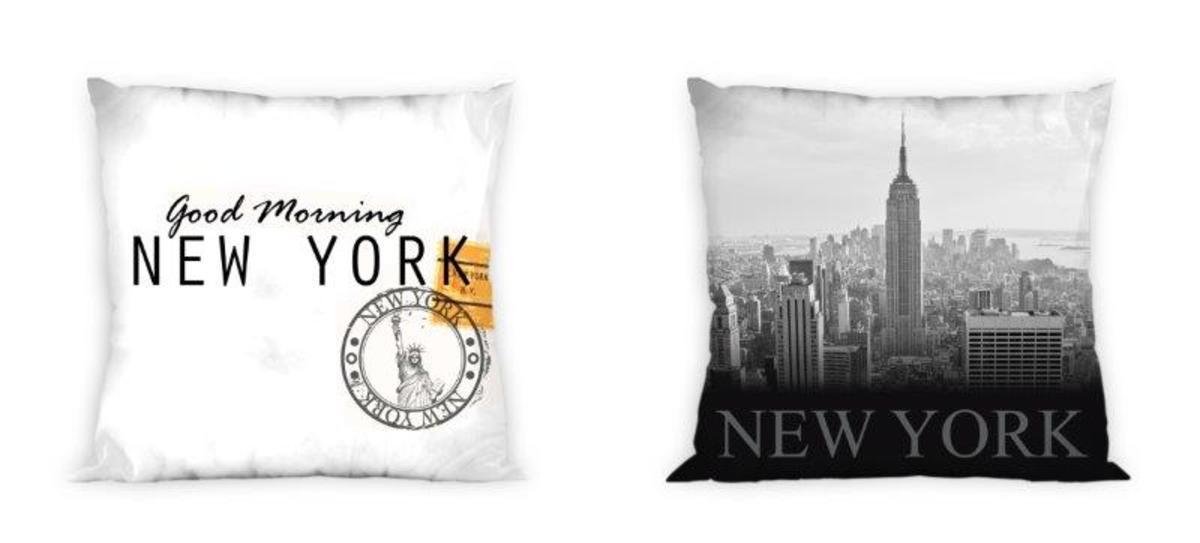 Povlak na polštář New York 03