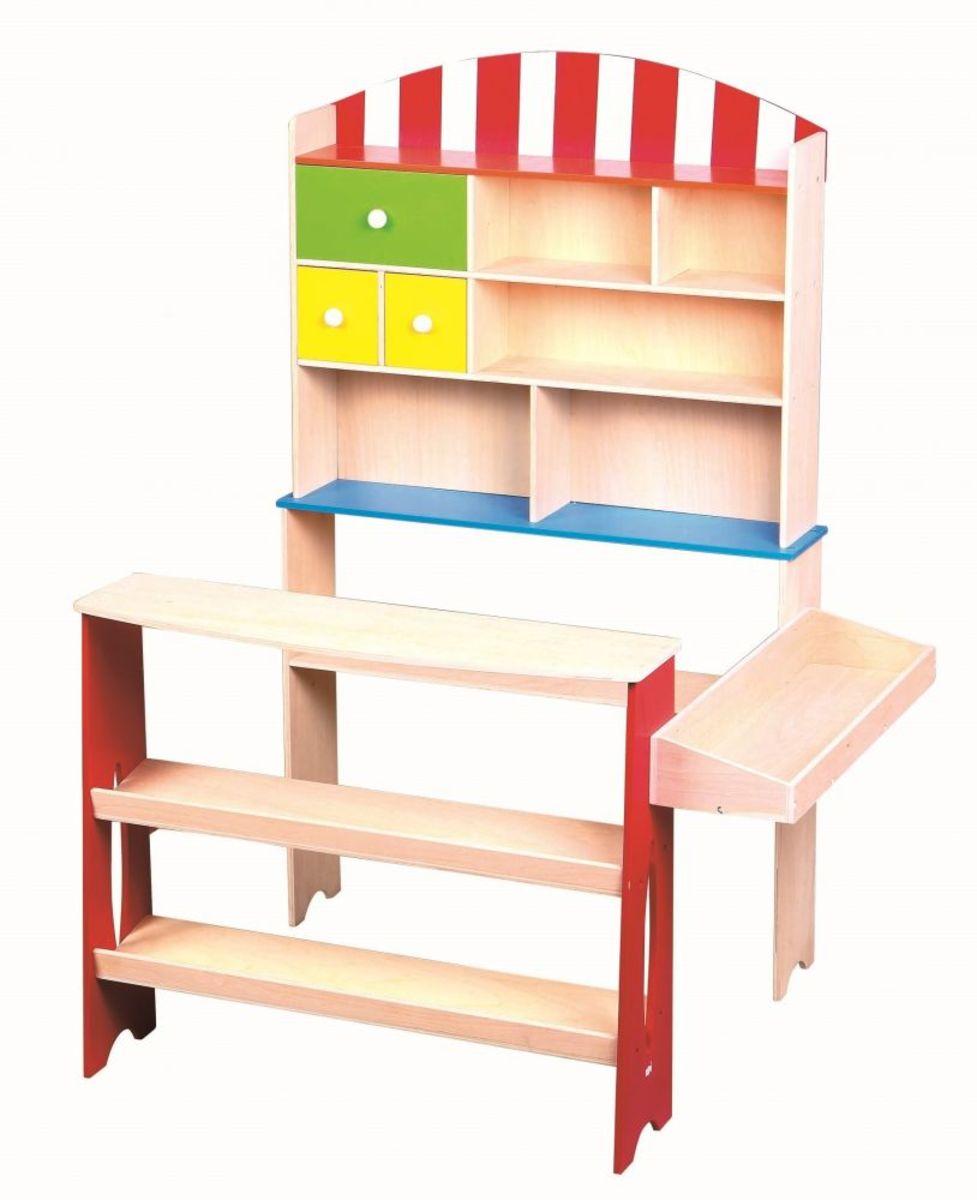 Dětský dřevěný obchod