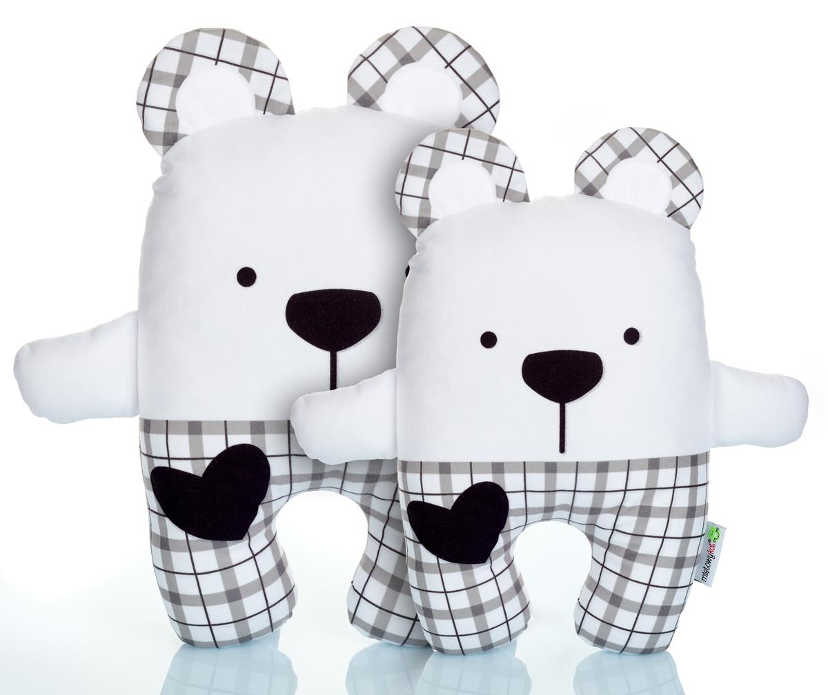 Medvídek Teddy v kostkovaném Velký Mint Kitten