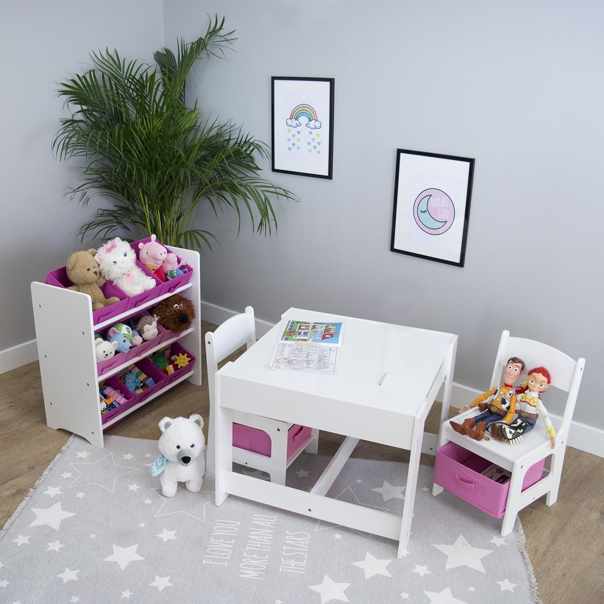Ourbaby dětský stůl se židlemi 23671
