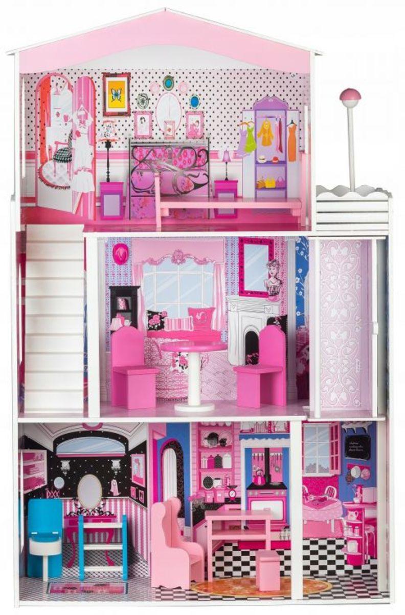 Dřevěný domeček pro panenky Miami