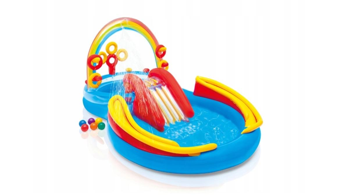 Dětský nafukovací bazén Duha