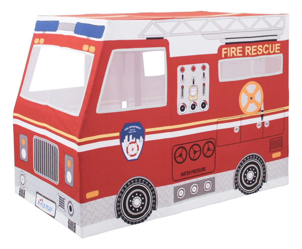 Dětský hrací domeček Hasičské auto 370044