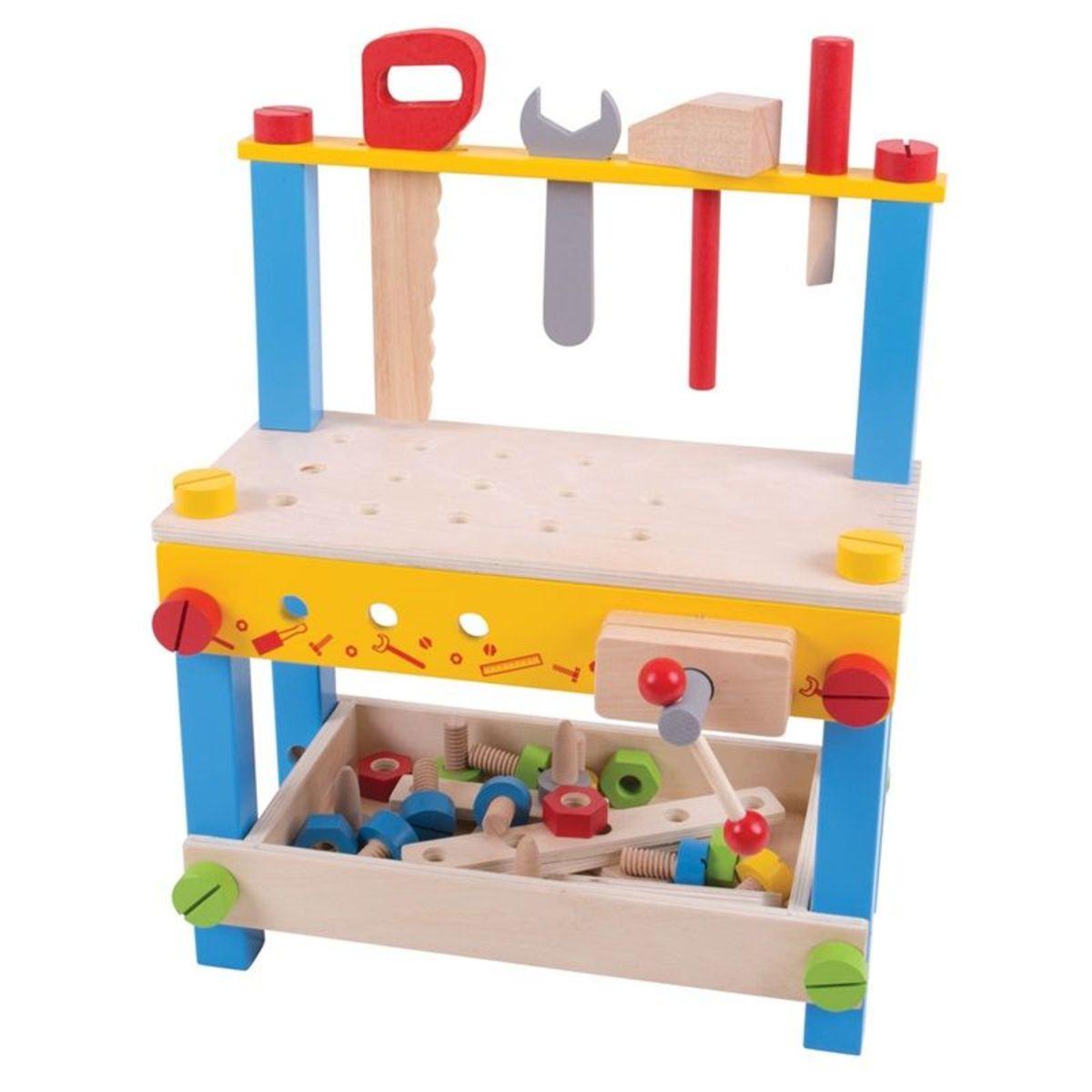 Dětská pracovní dílna s nářadím Wooden workshop set