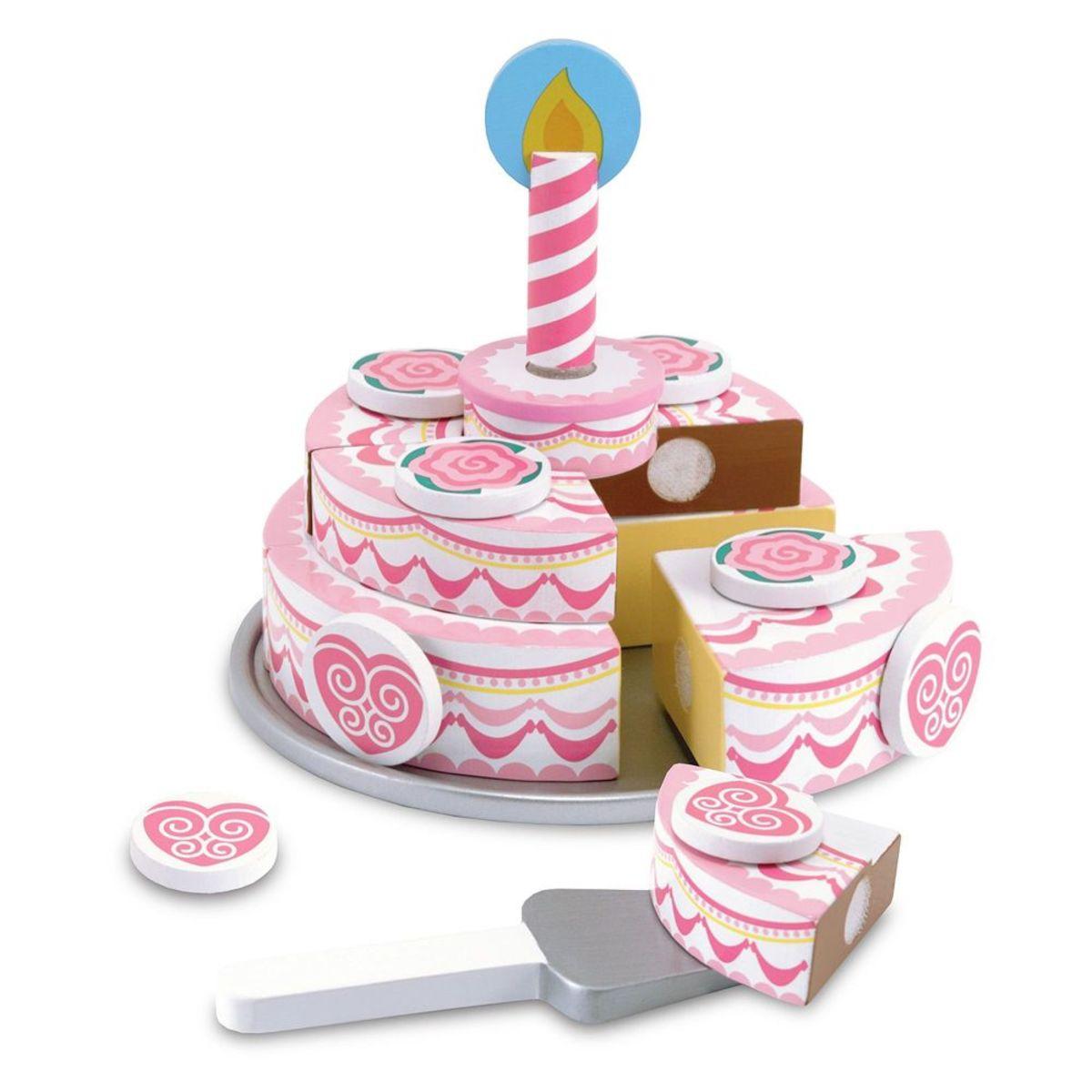 Ourbaby kuchyňka Birthday cake 31506-0 růžová
