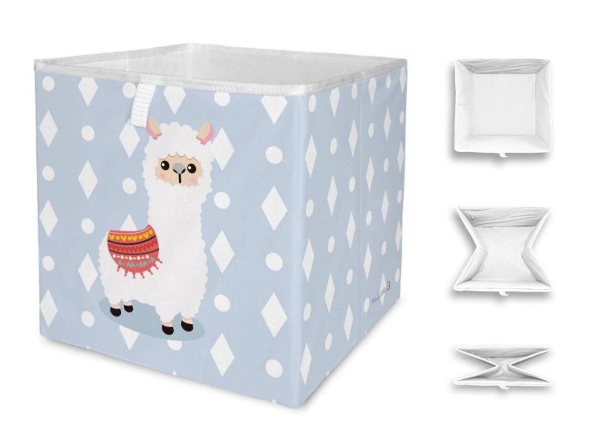 Mr. Little Fox úložný box - lama