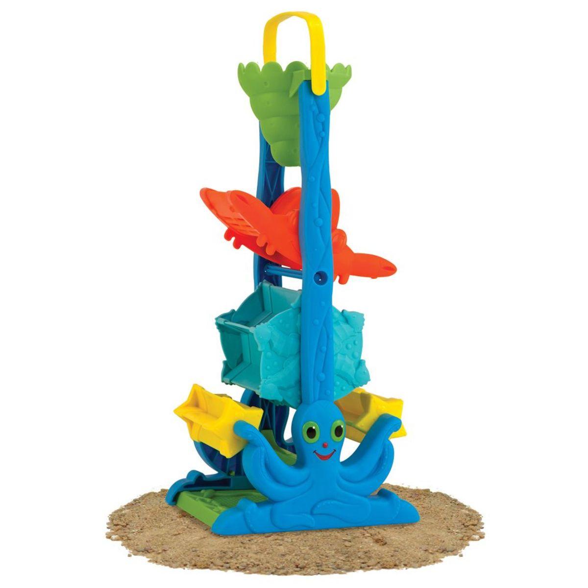 Barevný mlýnek na písek a vodu colorful pyramid water toy