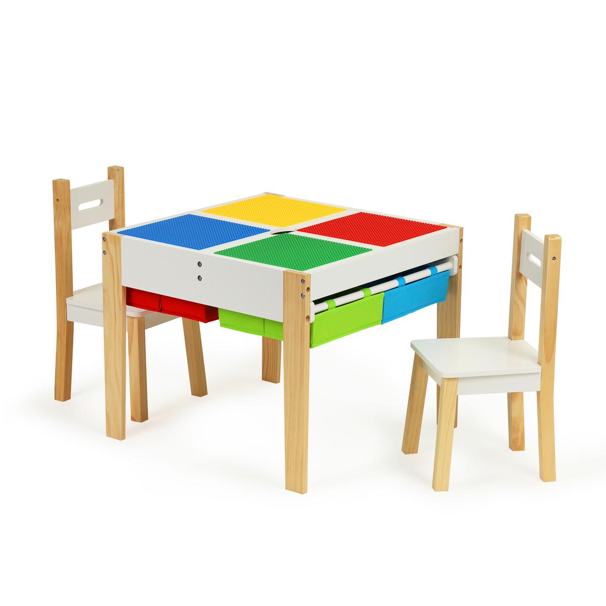 EcoToys dětský stůl se židlemi Table Creative 32523