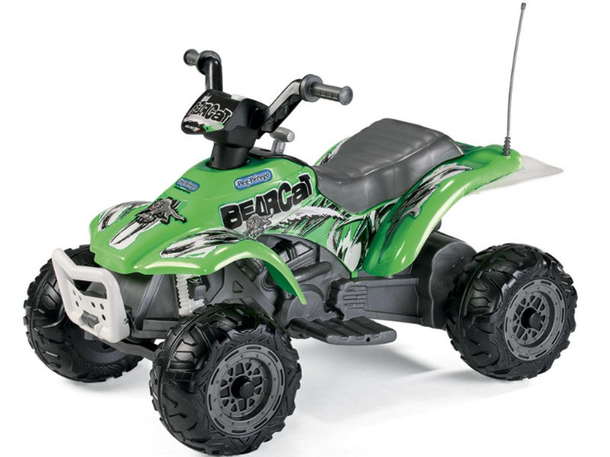 Dětská elektrická čtyřkolka Peg Perégo - Corral Bearcat IGED1165 - zelená