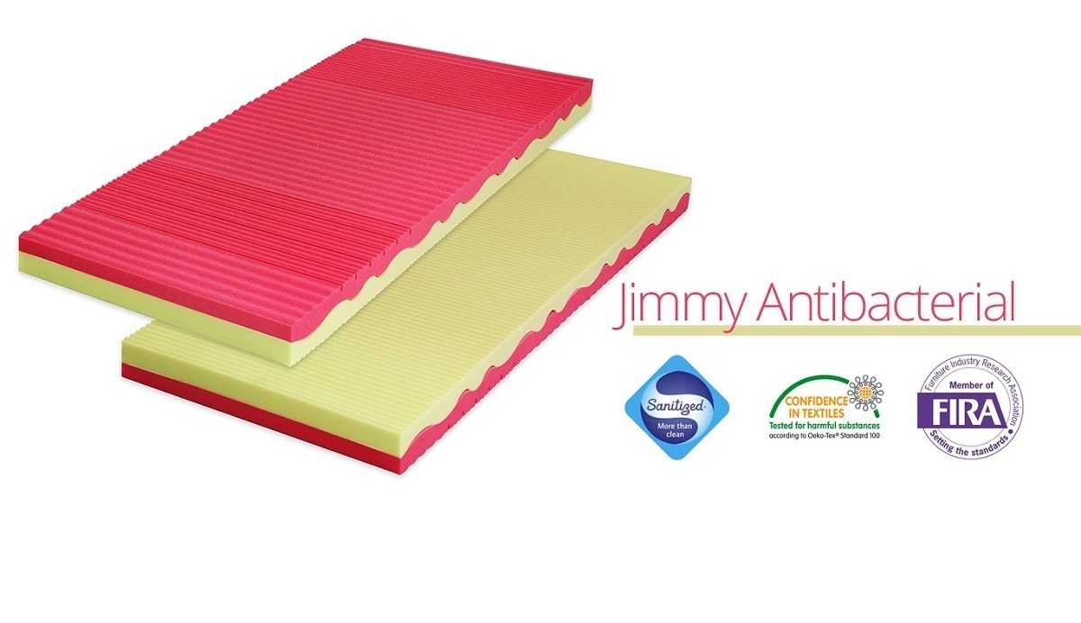 Matrace Ourbaby Jimmy Antibacterial 180x80 cm