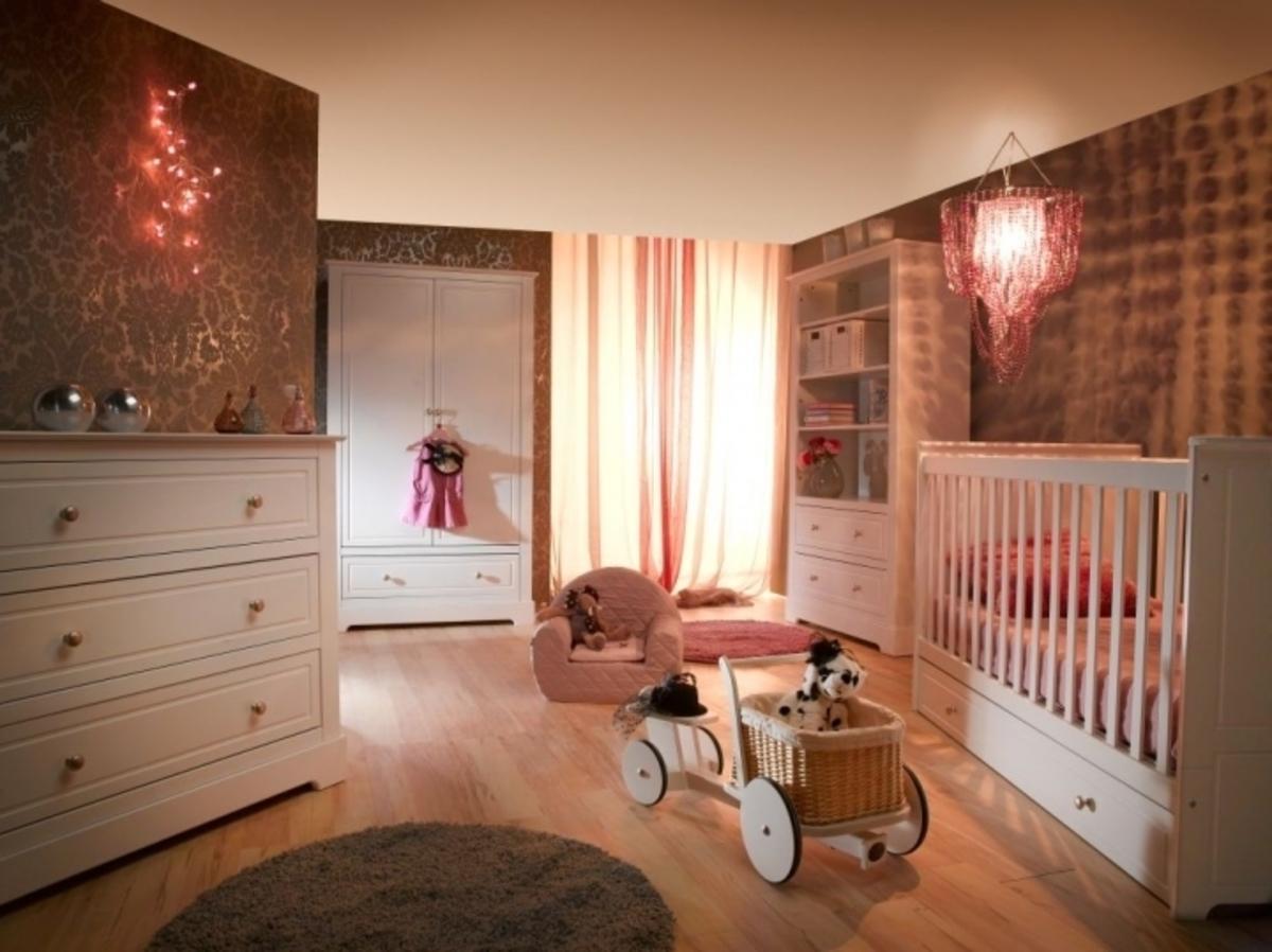 Dětský pokoj Marylou I Baby skříň