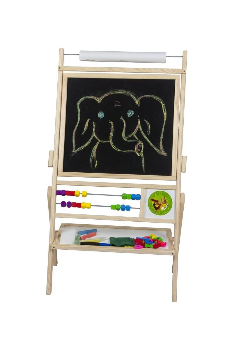 Dětská magnetická tabule přírodní TPN