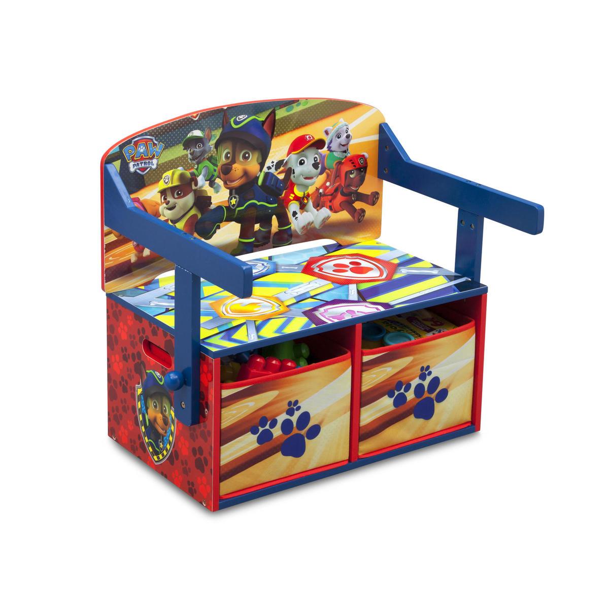 Dětská lavice s úložným prostorem Tlapková patrola TB83332PW