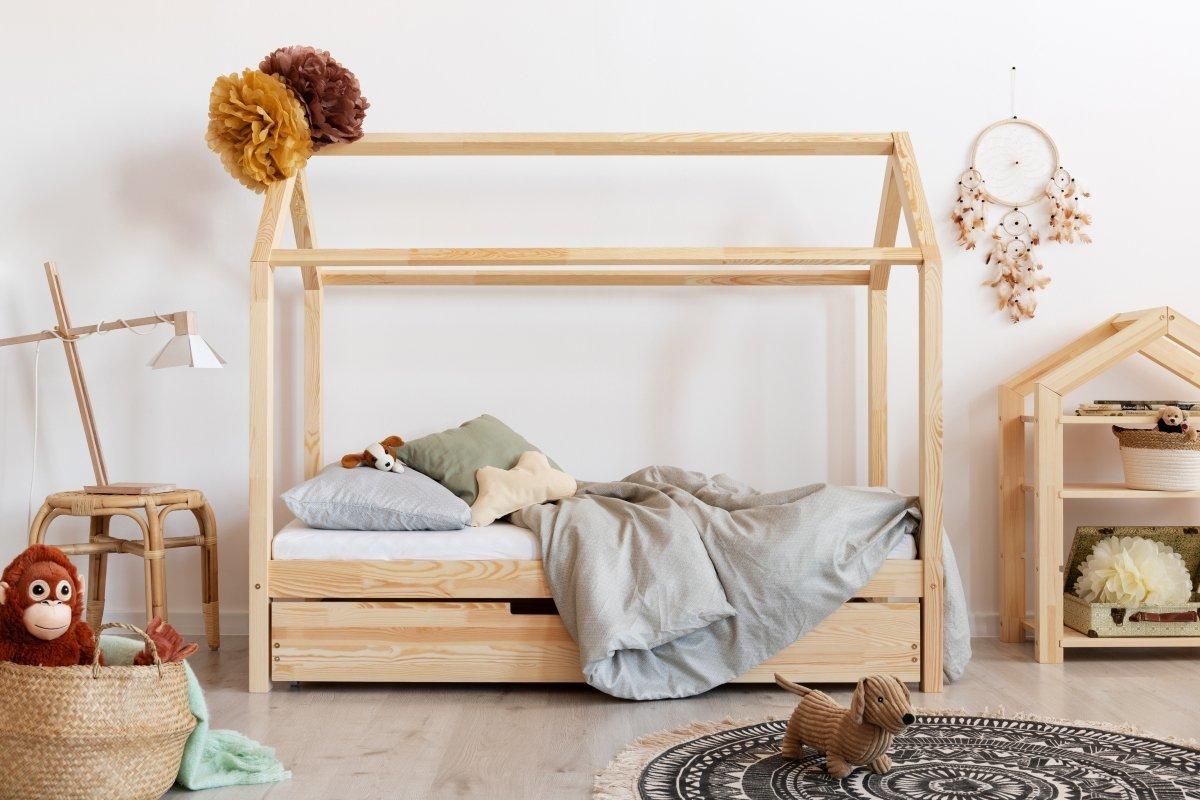 Dětská postel Ourbaby Mila II 200x120 cm přírodní