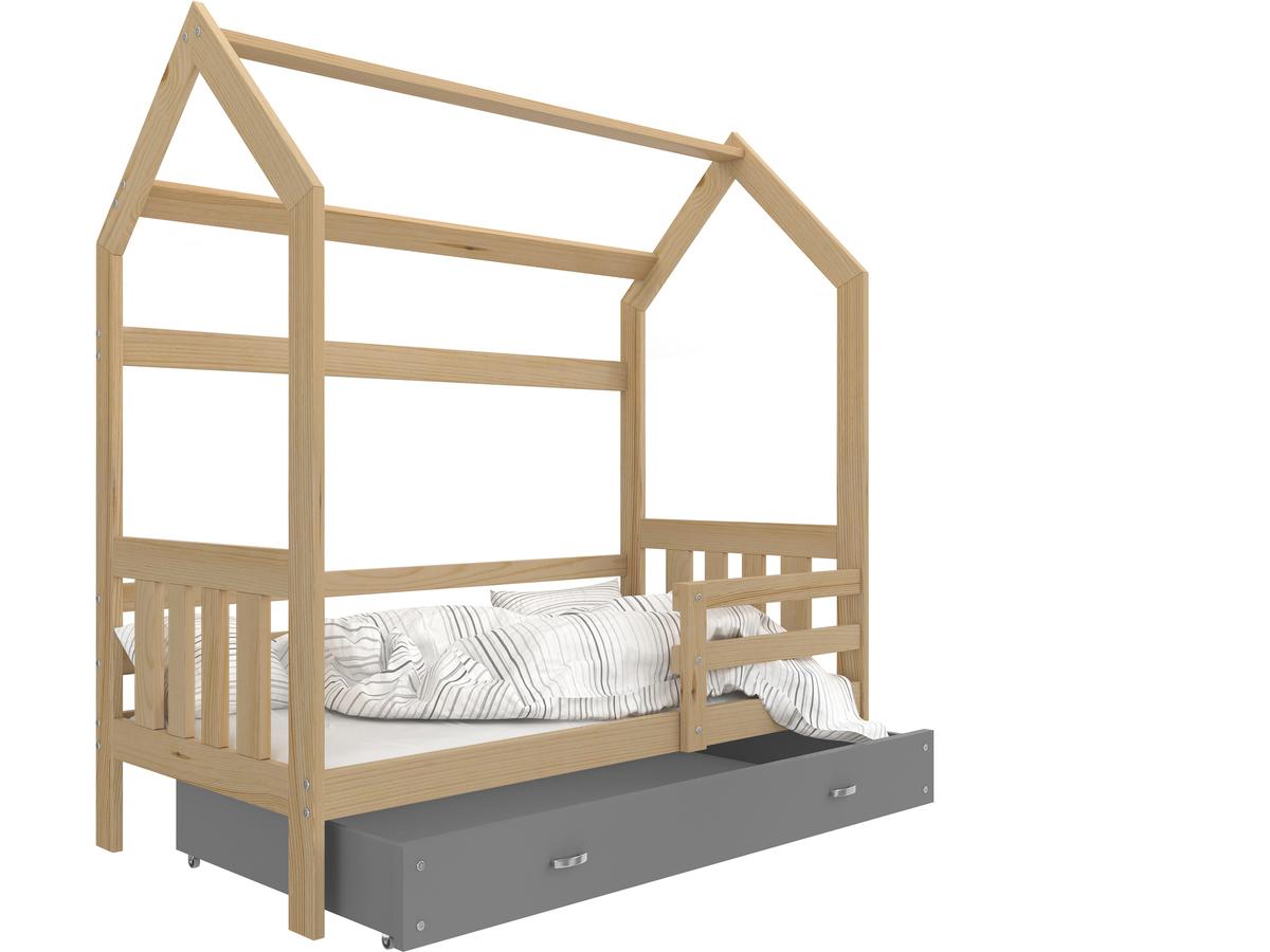 Dětská postel Ourbaby Filip 160x80 cm přírodní