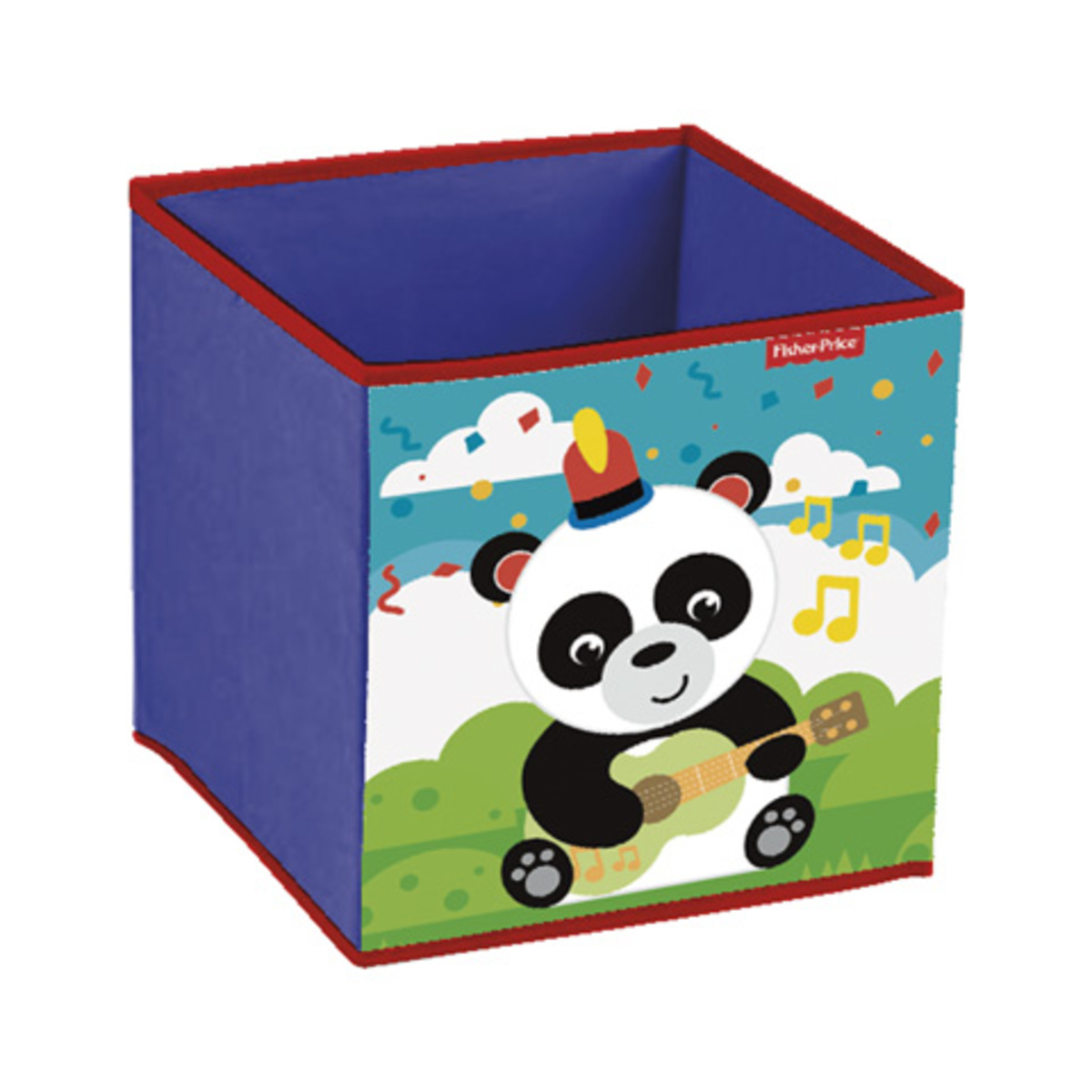 Dětský látkový úložný box Fisher Price Panda