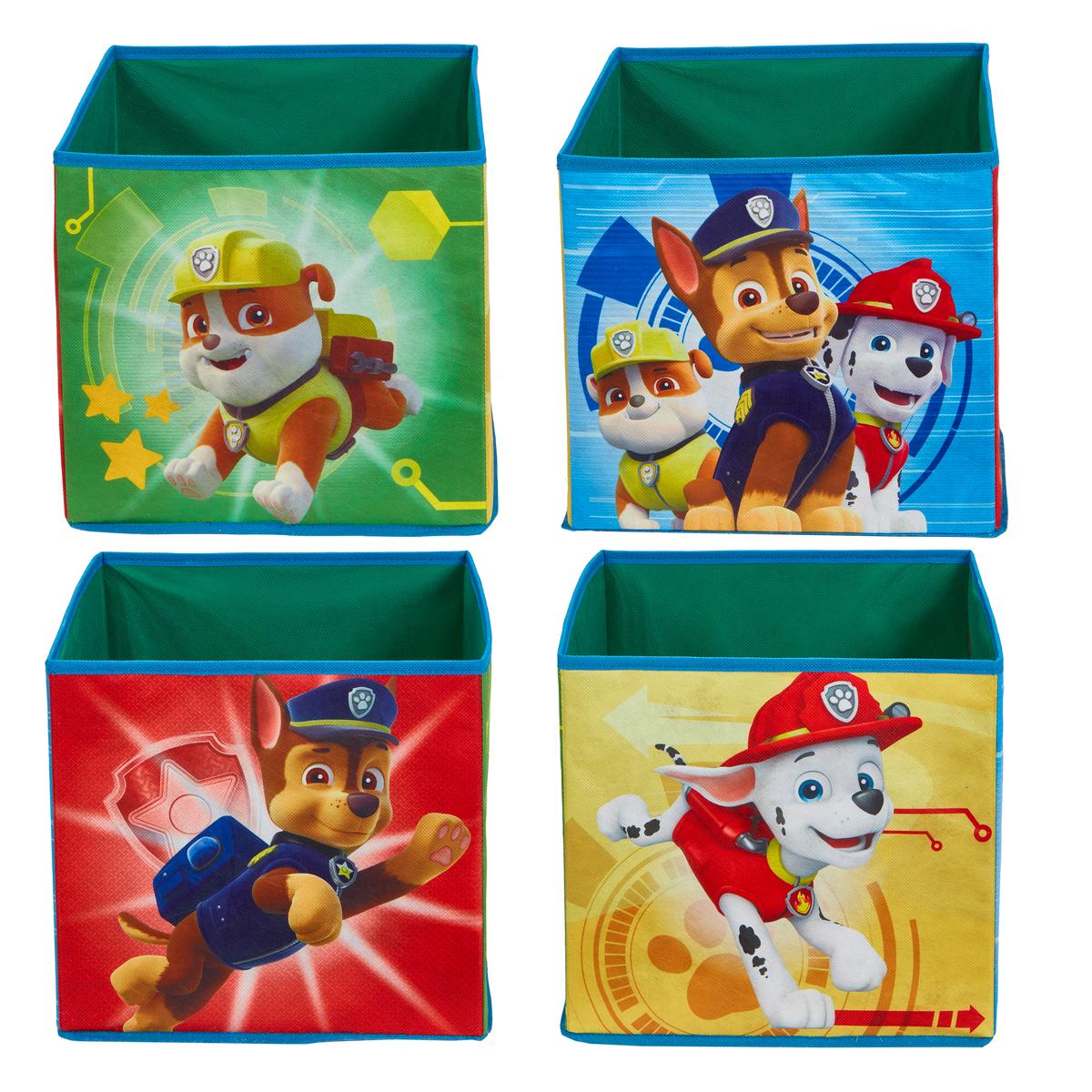 Čtyři úložné boxy - Paw Patrol