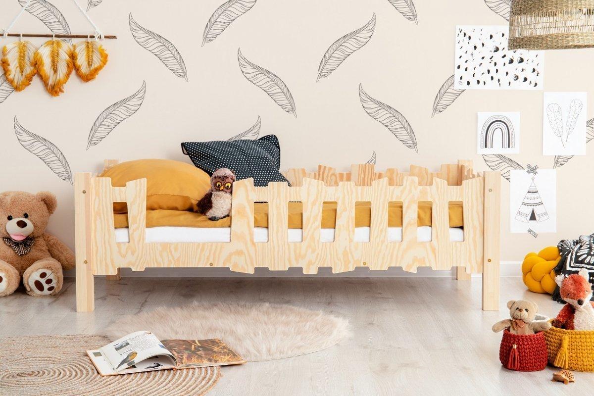 Dětská postel Pikko B Fence 180x90 cm
