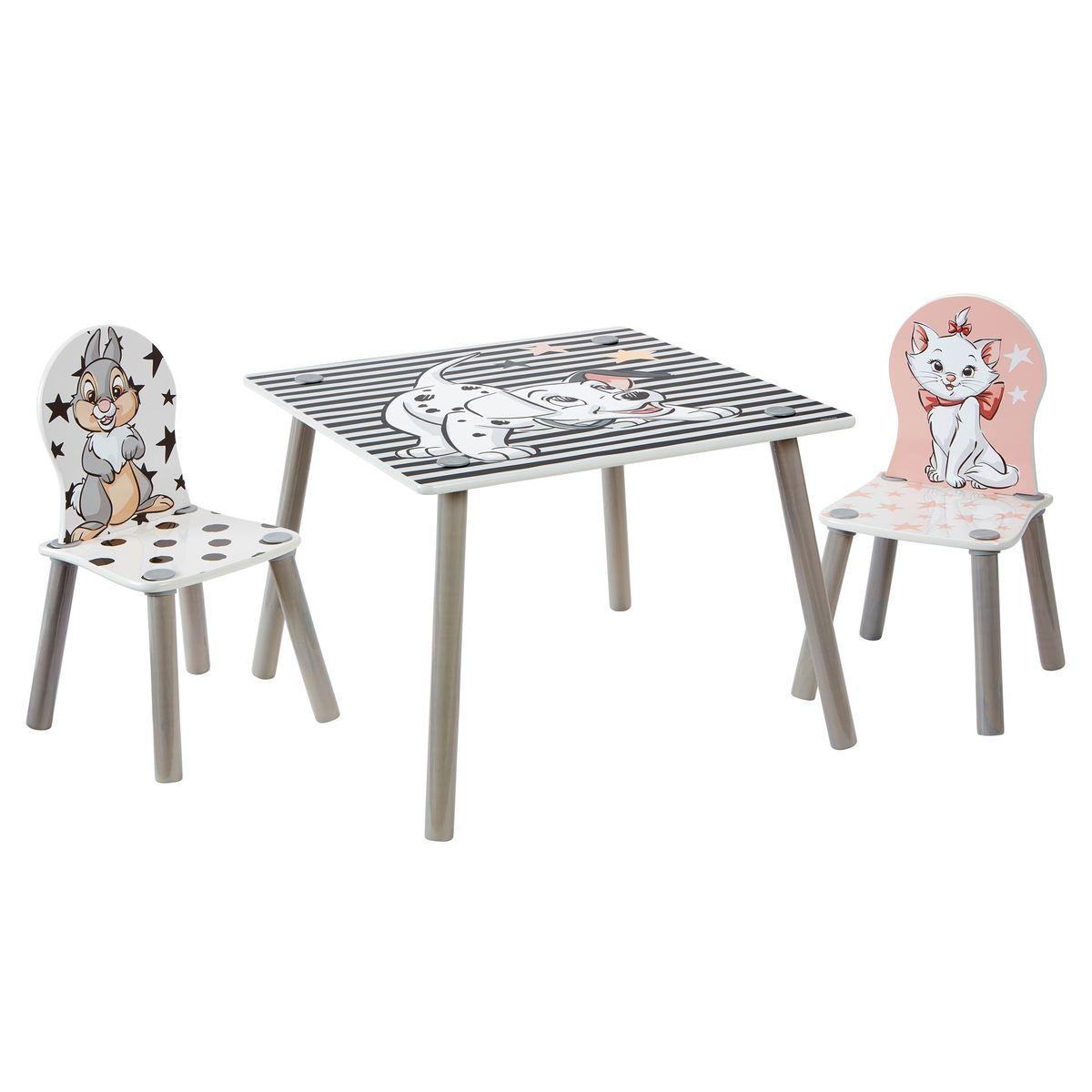 Ourbaby dětský stůl se židlemi Disney fun 31785