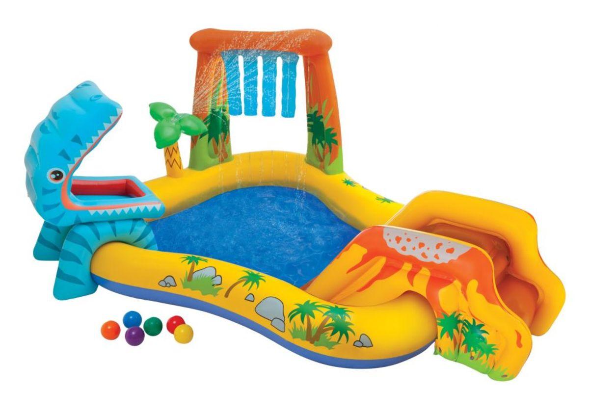 Dětský nafukovací bazén Dino