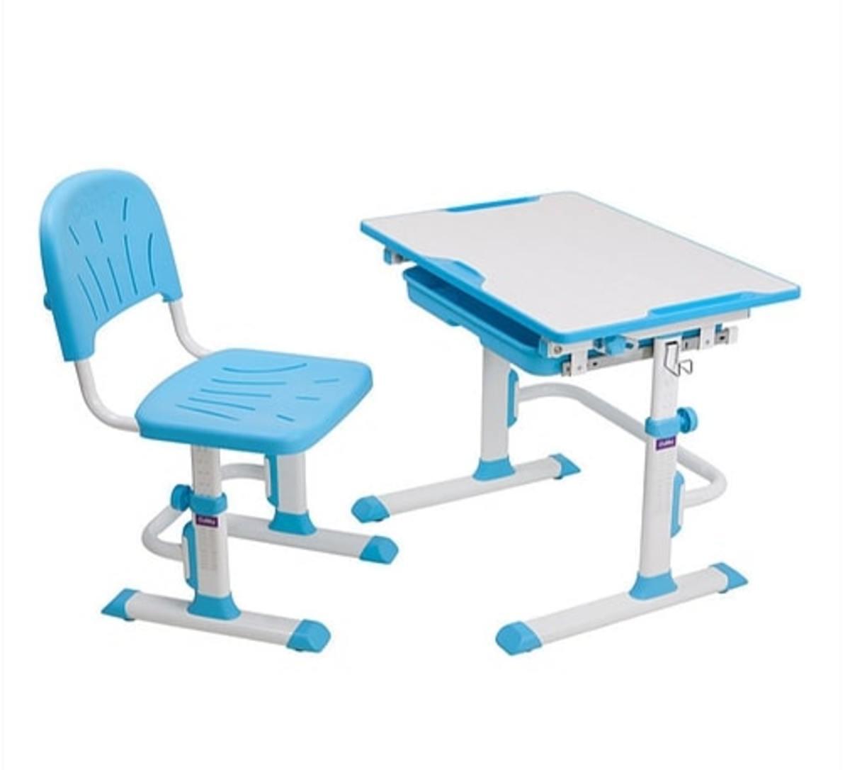 Dětský psací stůl + židle Cubby Lupin - modrý