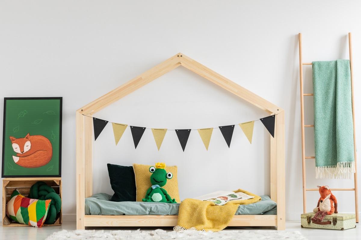 Dětská postel Ourbaby Mila Classic IV 200x120 cm přírodní