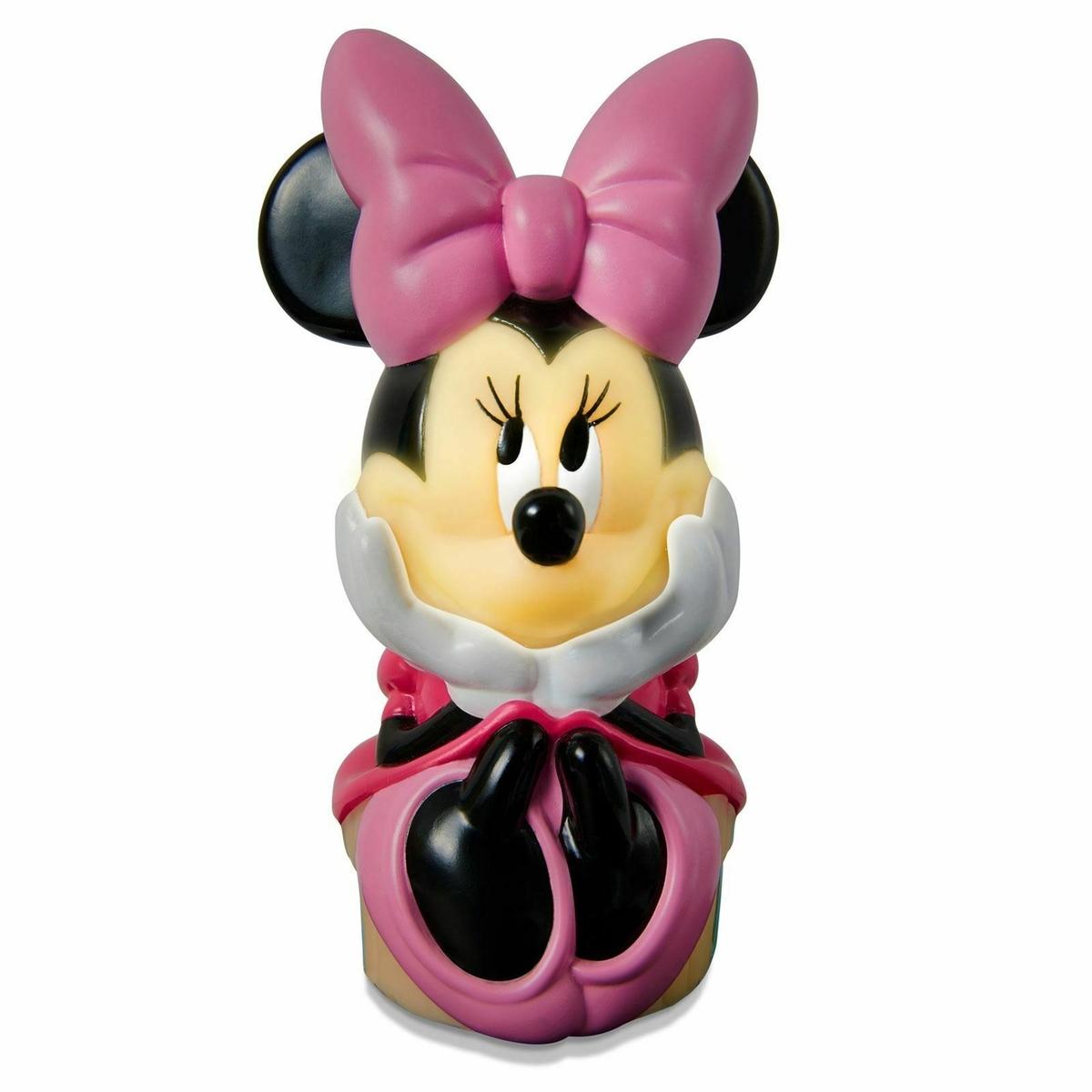 Lampička a baterka 2v1 - Minnie Mouse lamp