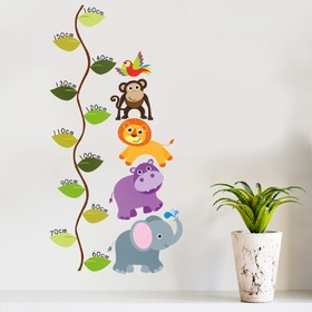 Měřítko vzrůstu - Jungle metr, Housedecor