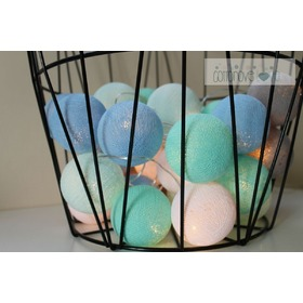 Cotton balls - Mint pastel, cottonovelove