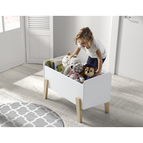 Úložný box Kiddy bílý, VIPACK FURNITURE