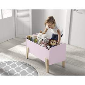 Úložný box Kiddy růžový, VIPACK FURNITURE