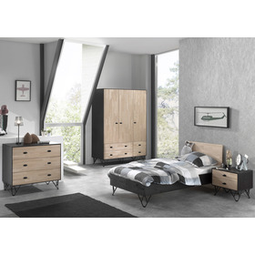 Komoda William, VIPACK FURNITURE