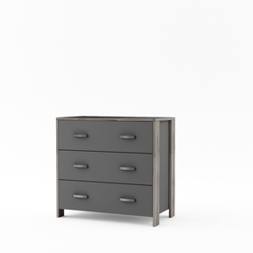 Komoda Manhattan - šedá, VIPACK FURNITURE