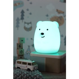 Lampa LED PUFI - Medvěd, cotton love